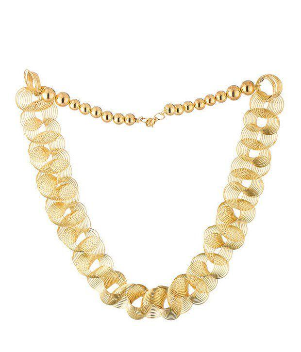 Shilpi Handicrafts Gold Plated Statement Necklace