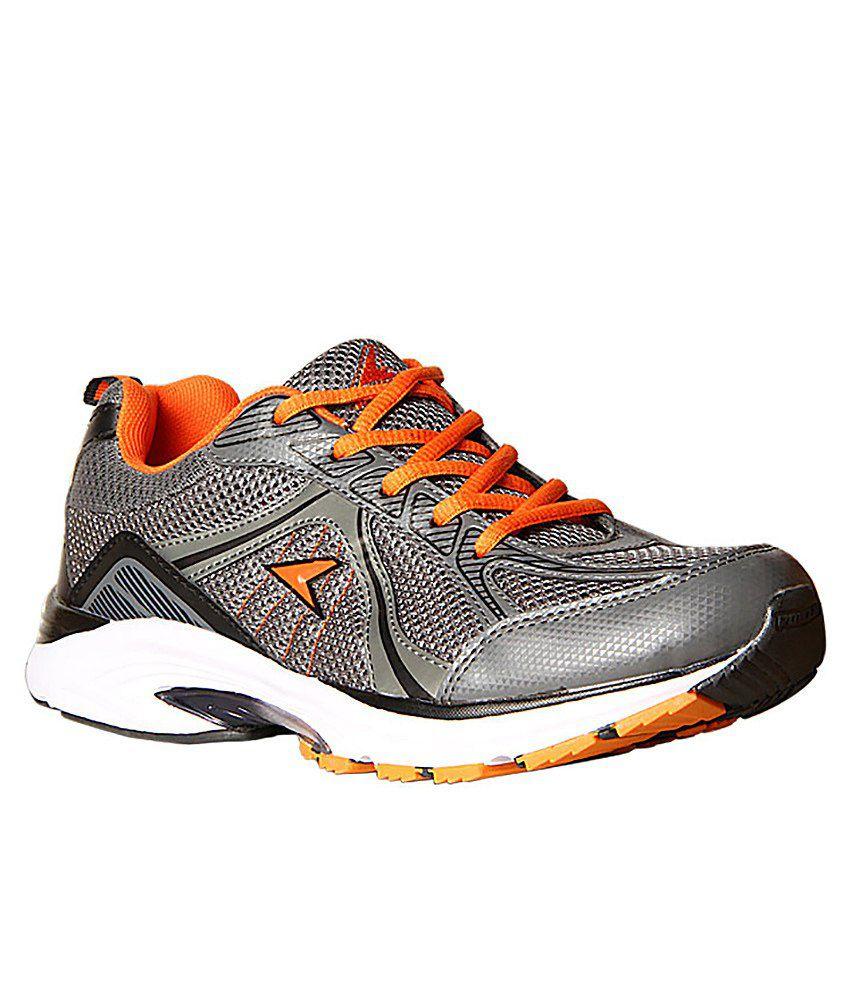 Power Gray Colour Sport Shoes