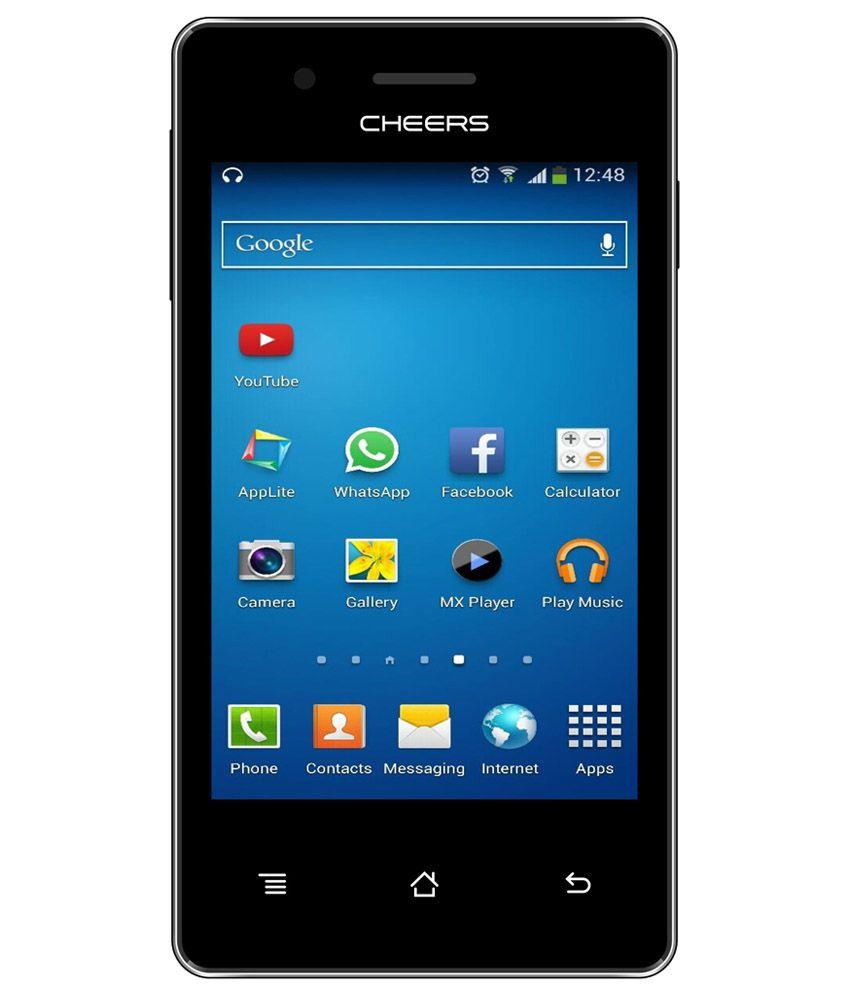 Cheers C33 v4.1 Ice Cream Sandwich 256 MB Dual Sim Smart Metallic Gray