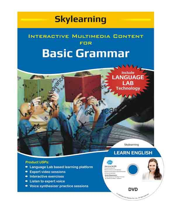 Interactive Multimedia Content For Basic Grammar DVDs ...