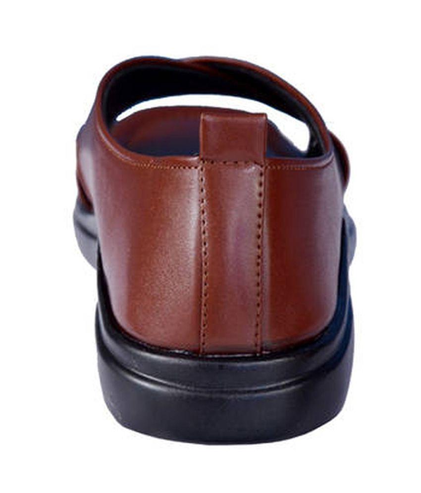 43f96e936134 Mr. Polo Tan Men Sandals Price in India- Buy Mr. Polo Tan Men ...