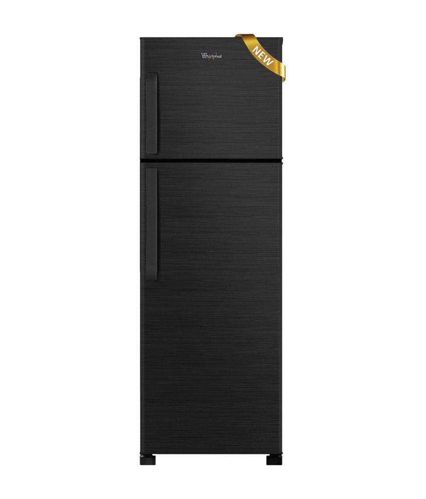 Whirlpool 245 Ltr 2 Star FR258 Double Door Refrigerator - Wine Titanium