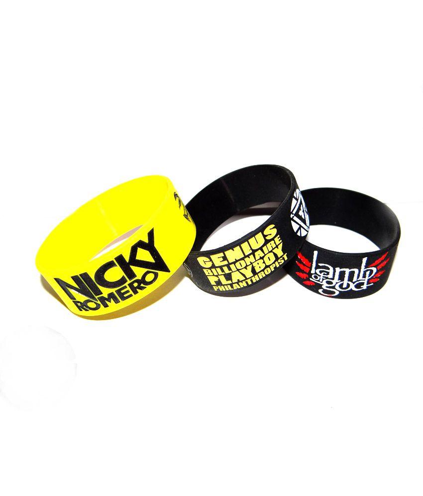 G-Unit Multicolor Non Leather Wrist Band