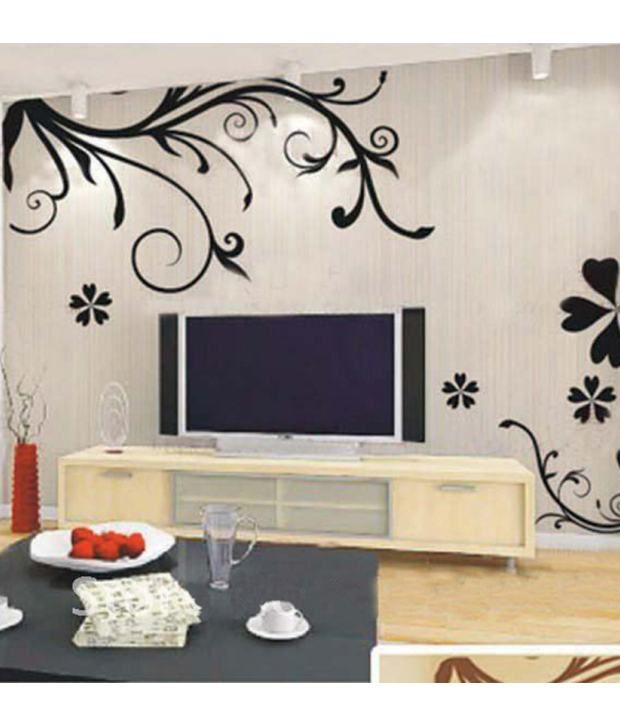 stickerskart wall stickers wall decals design art 7043 (60x90 cms