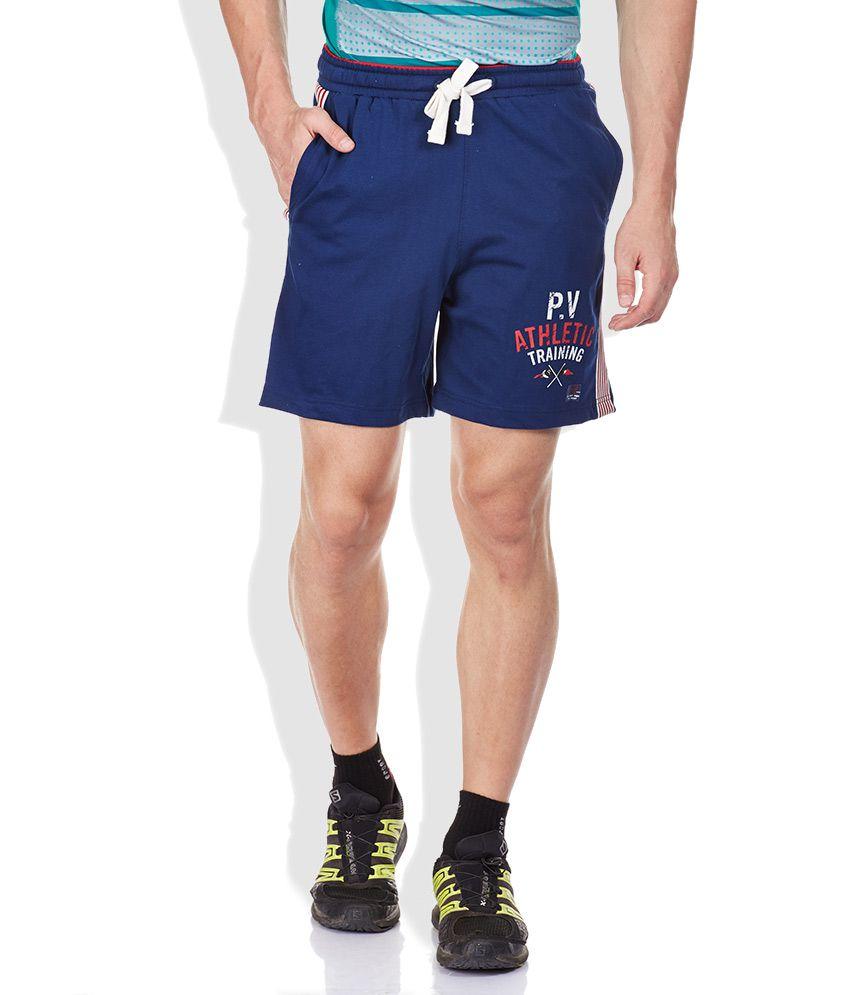 Proline Blue Cotton Shorts