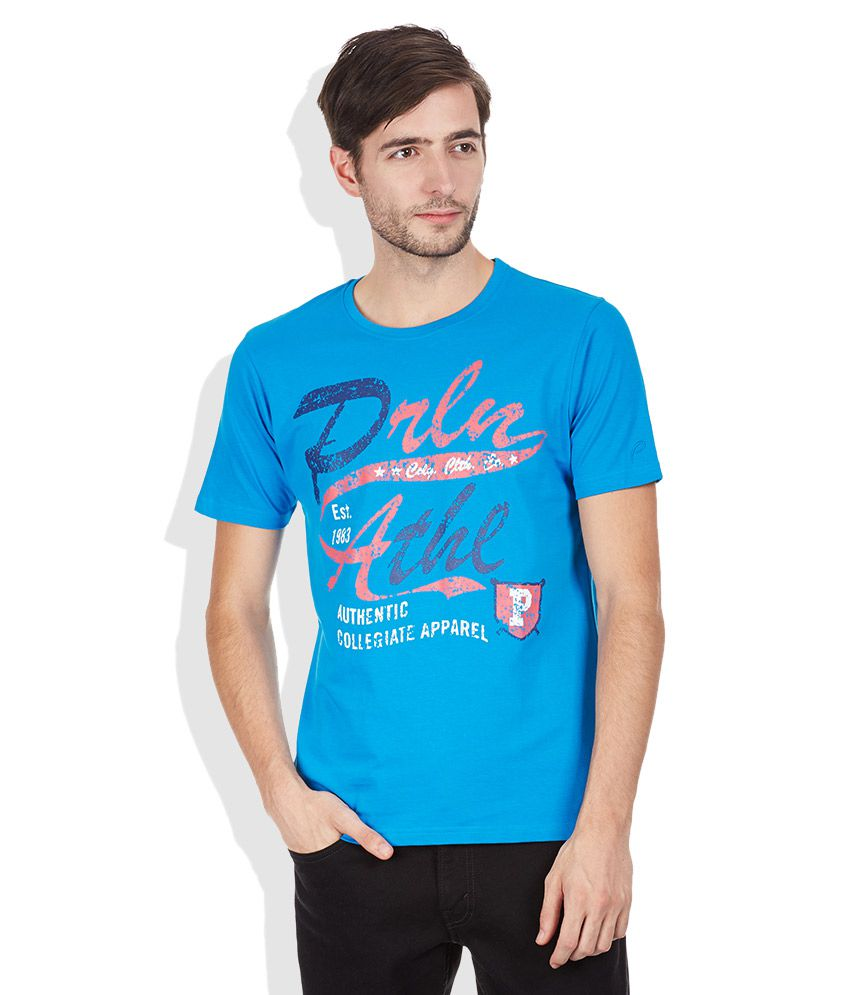 Proline Blue Round Neck