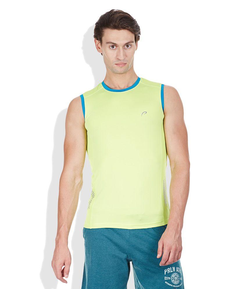 Proline Green Round Neck T Shirt