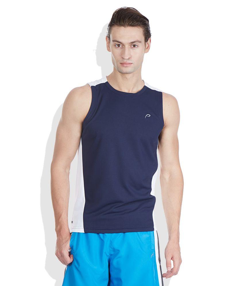 Proline Navy Round Neck T Shirt