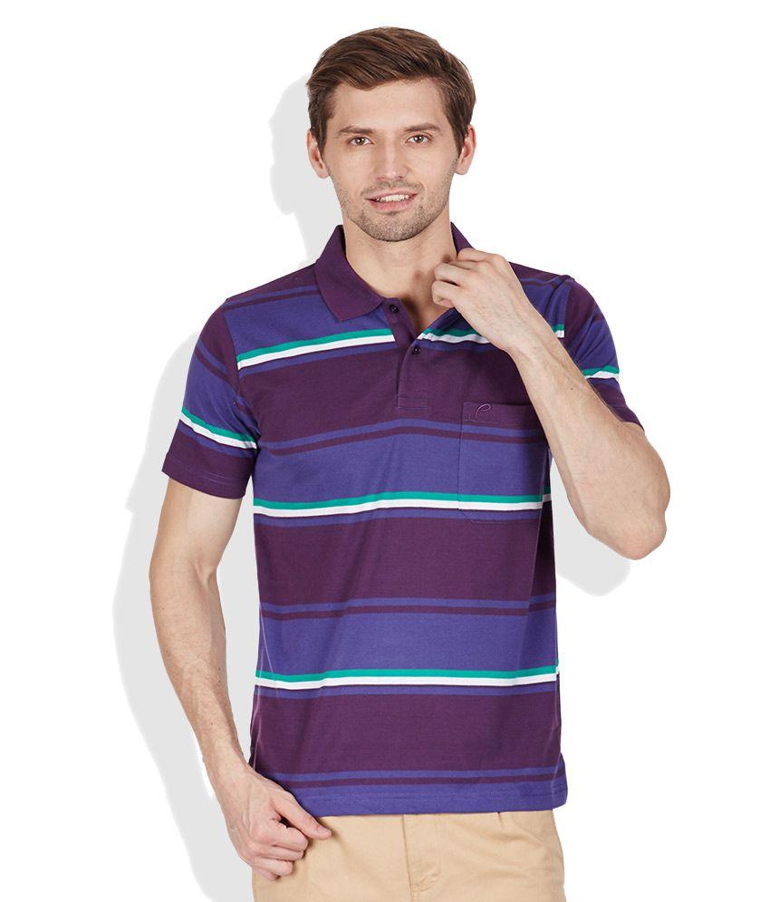 Proline Purple Polo T-Shirts