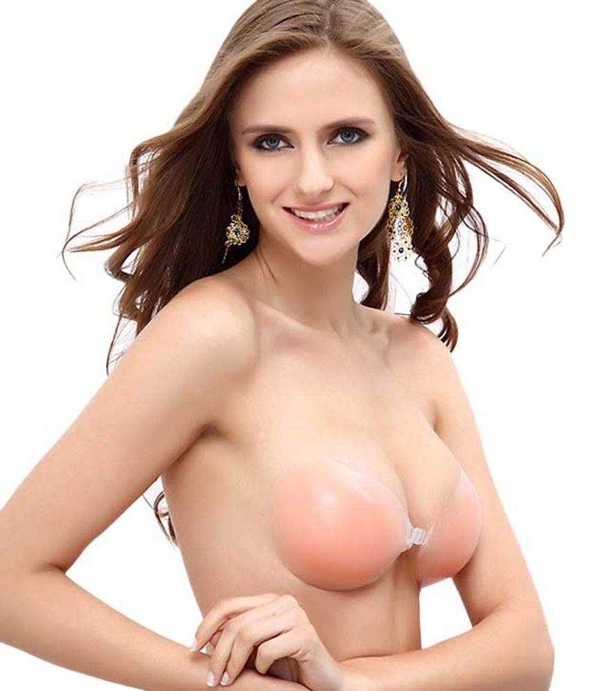Buy Sizzlacious Beige Silicon Bra Online at Best Prices in India ...