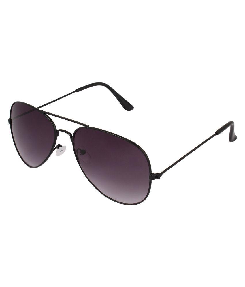 David Martin sdm-1 Purple Aviator Sunglasses