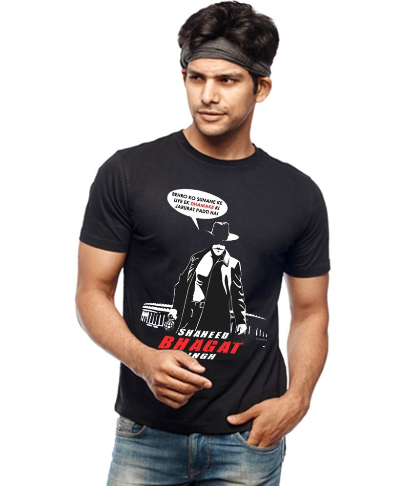 2afed5b7a Wear Your Opinion Shaheed Bhagat Singh T Shirt - Buy Wear Your Opinion  Shaheed Bhagat Singh T Shirt Online at Low Price - Snapdeal.com