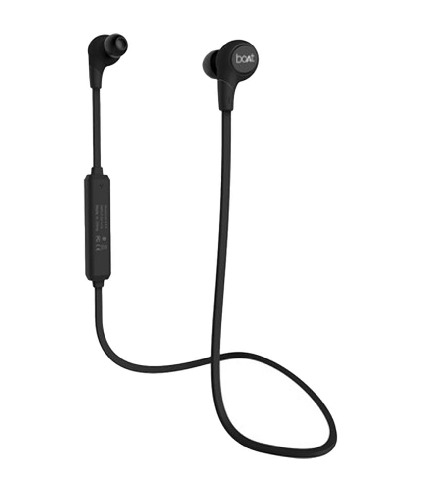 79b126f73d7 Boat Rockerz In the Ear Bluetooth Earphones - Black - Buy Boat Rockerz In  the Ear Bluetooth Earphones - Black Online at Best Prices in India on  Snapdeal