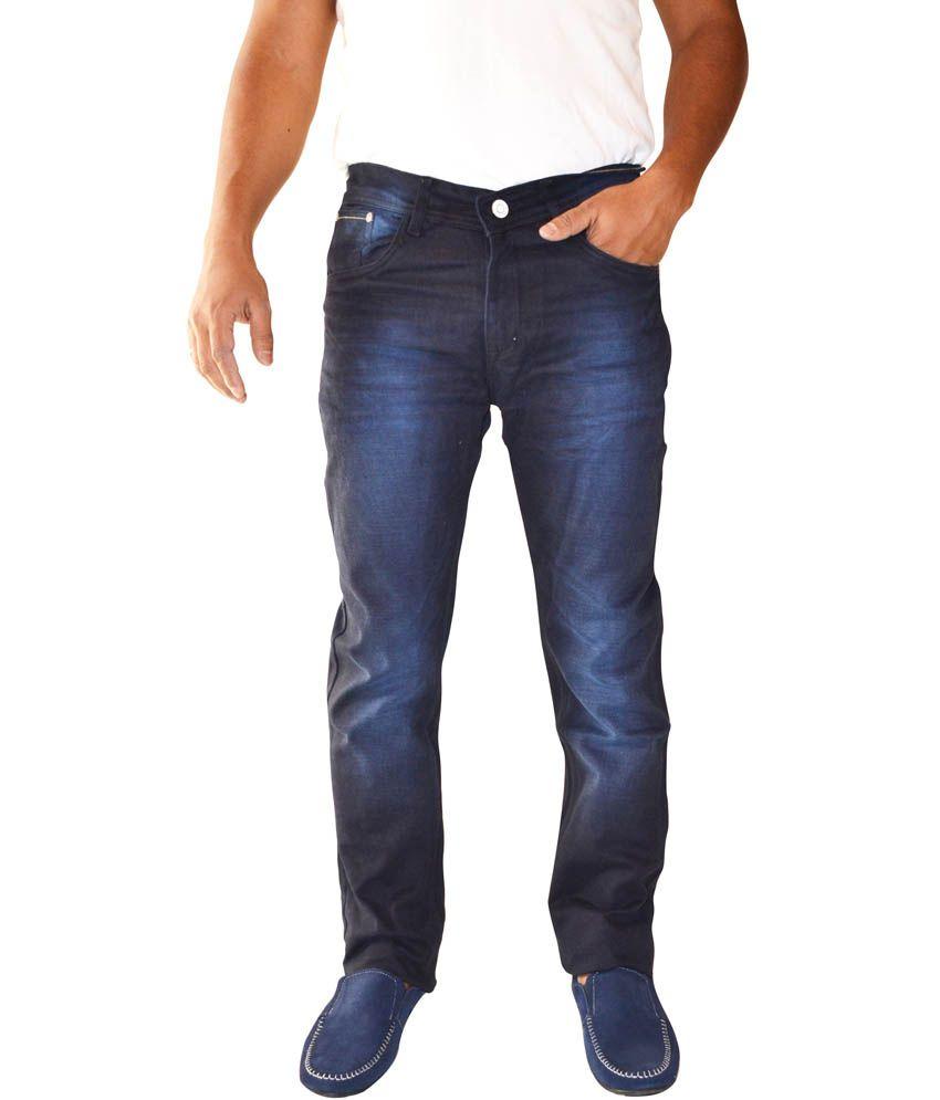 Denim Kraft Blue Cotton Slim Fit Basics Jeans