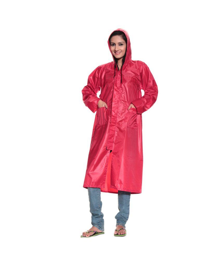 Arban Red Miss India Rain Suit