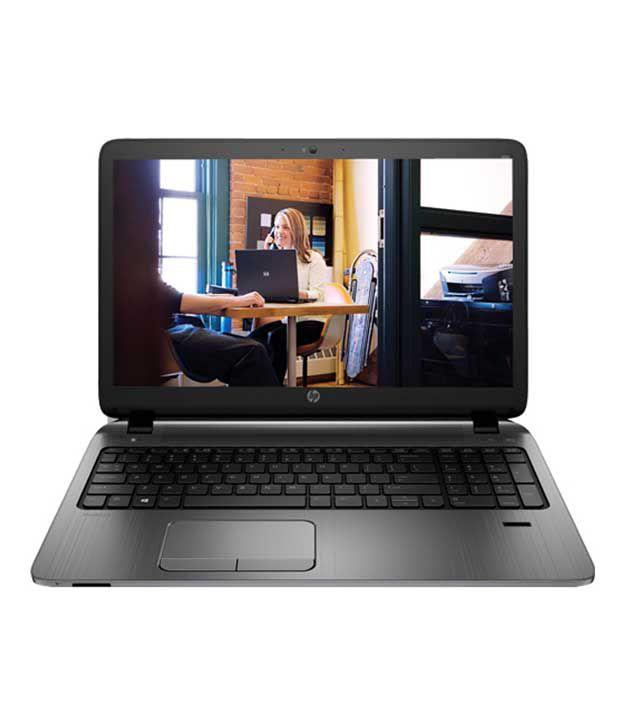 HP ProBook 450 G2 Notebook (K1V55PA) (4th Gen Intel Core i5- 4GB RAM- 500GB HDD- 39.62 cm (15.6)- DOS) (Black)