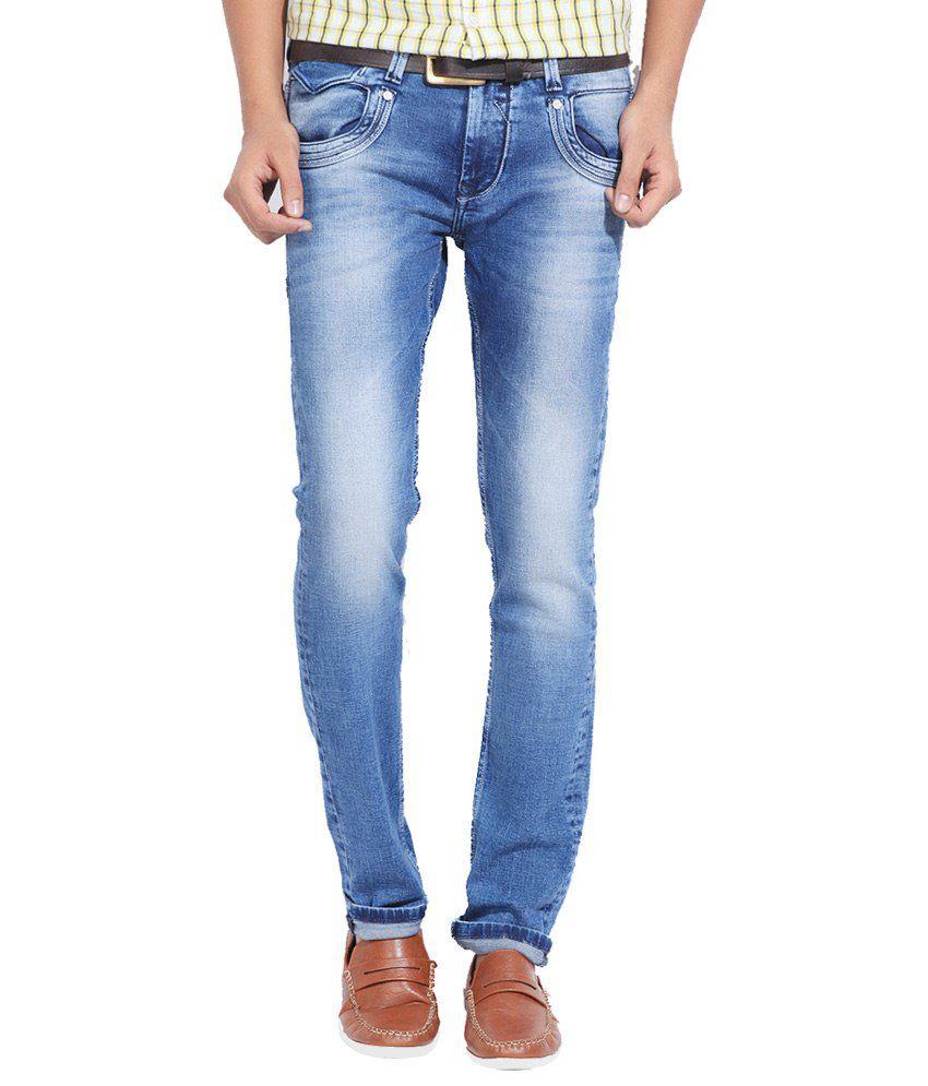Killer Blue Cotton Blend Jeans