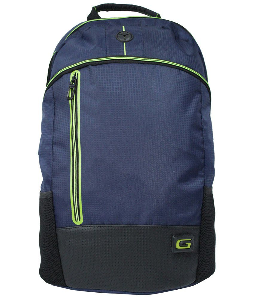 7cc76577c4 Gear Navy   Green Backpack - Buy Gear Navy   Green Backpack Online at Best  Prices in India on Snapdeal