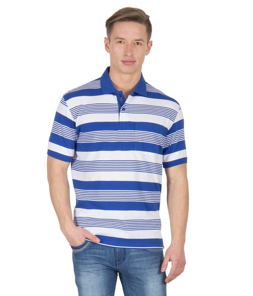 Wilkins & Tuscany 11606 Stylish Royal Blue T-shirt