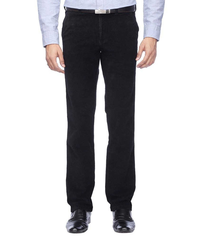 Stop By Shoppers Attractive Black Formal Trouser