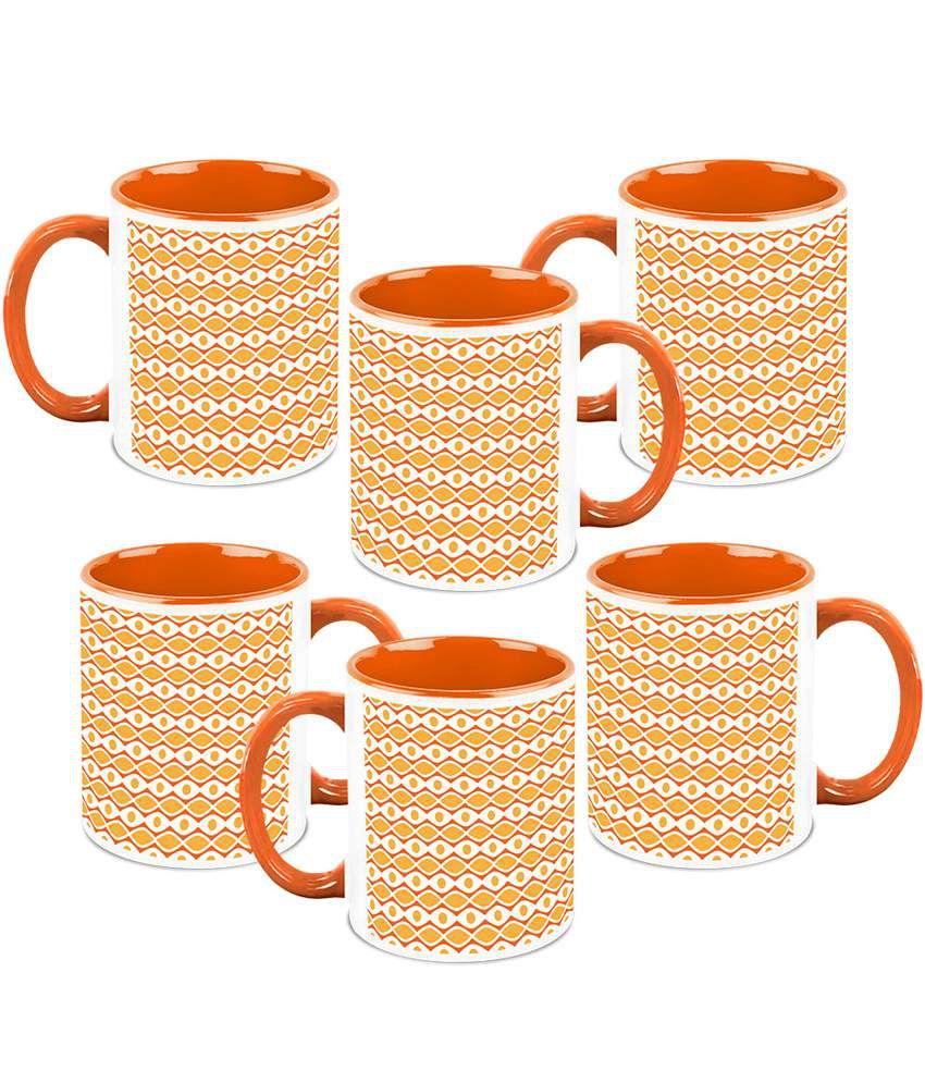 Homesogood Multicolour Serving At Once Coffee Mug