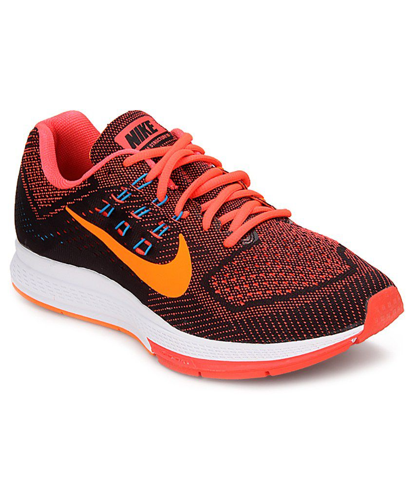 quality design c084a 844fc Nike Air Zoom Structure 18 Sports Shoes - Buy Nike Air Zoom Structure 18  Sports Shoes Online at Best Prices in India on Snapdeal