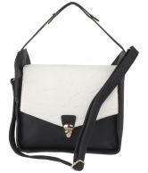 Alonzo ALONZO0263 Black Satchel Bags