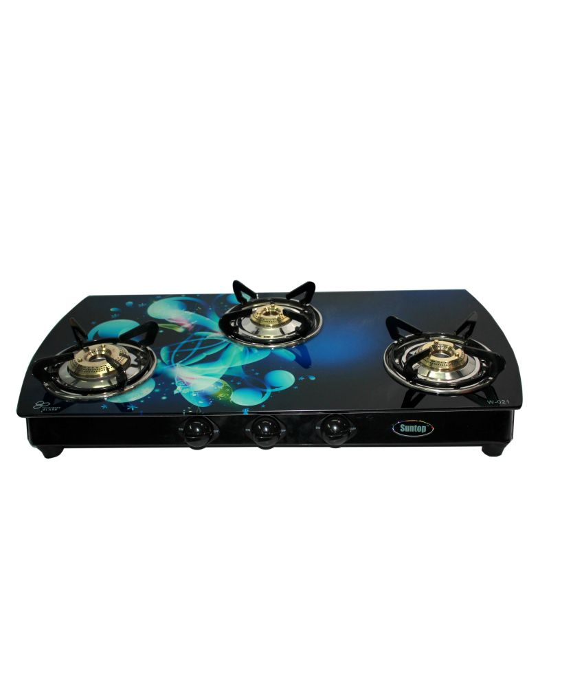 Suntop MS-W-021 Manual Gas Cooktop (3 Burner)