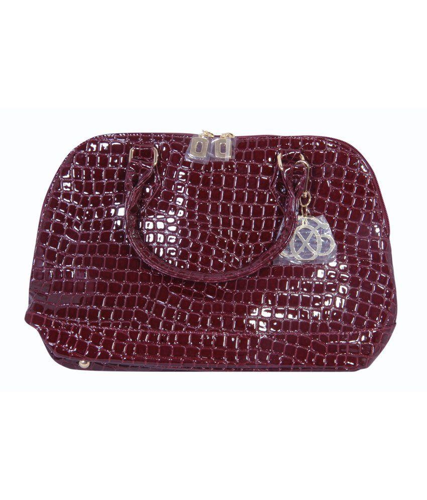 Oriflame Brown Leather Hobo Bag