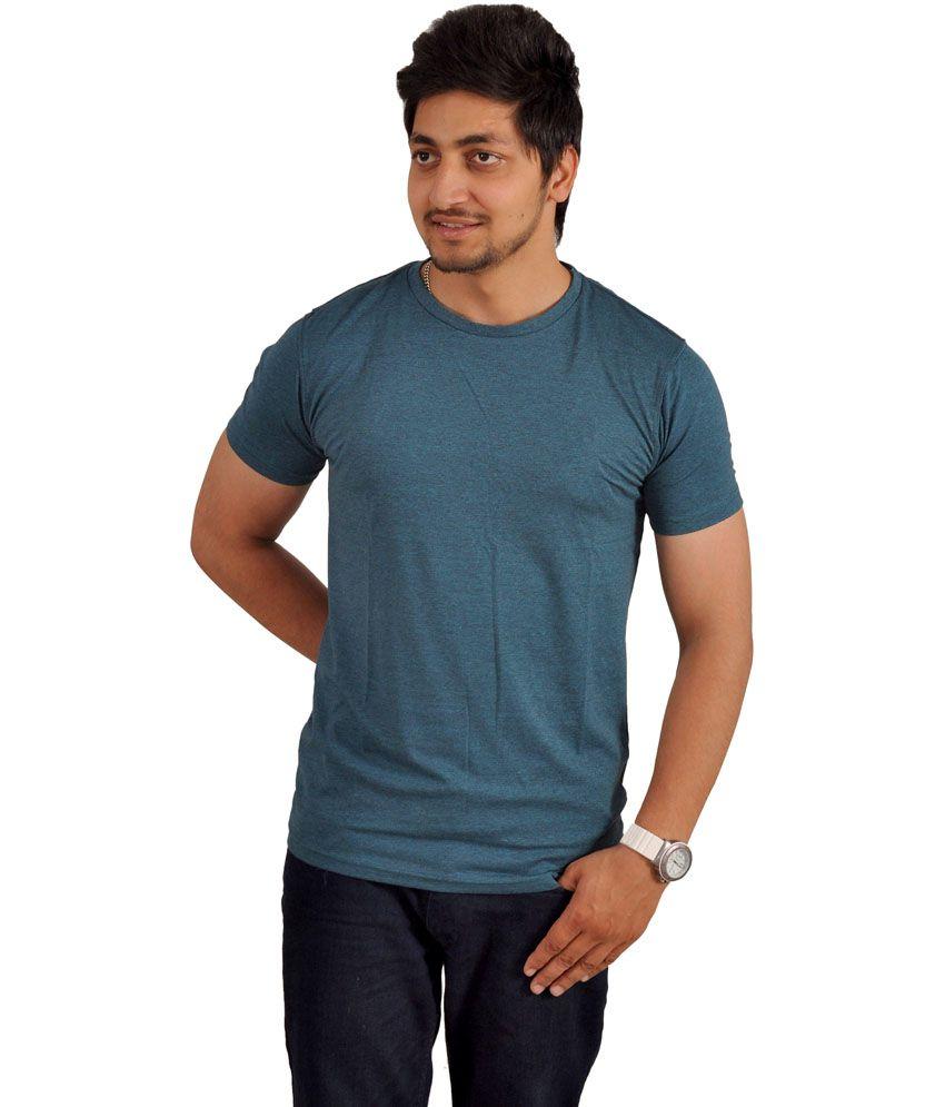Hartmann Gray Cotton Round Neck Half Sleeve T-Shirt