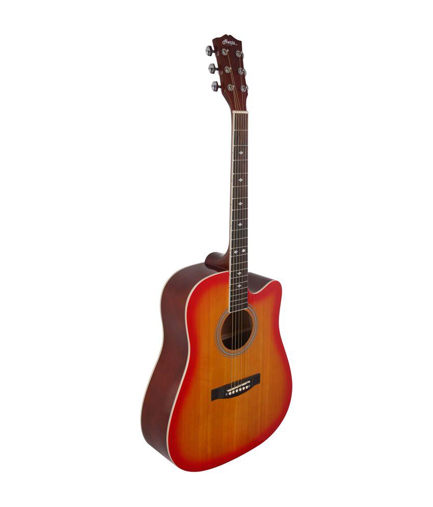 hertz hza 5000 sunburst acoustic guitar cherry buy hertz hza 5000 sunburst acoustic guitar. Black Bedroom Furniture Sets. Home Design Ideas