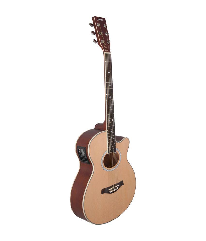 hertz hza 7000 natural acoustic guitar buy hertz hza 7000 natural acoustic guitar online at. Black Bedroom Furniture Sets. Home Design Ideas