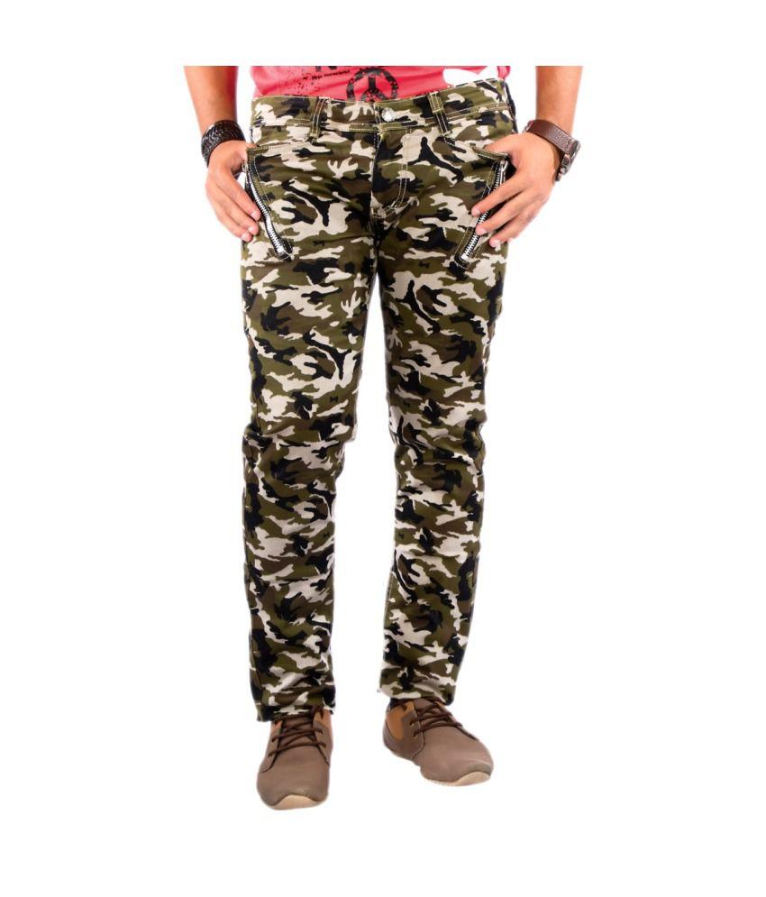 Somani Fashion Cotton Casual Cargo For Men