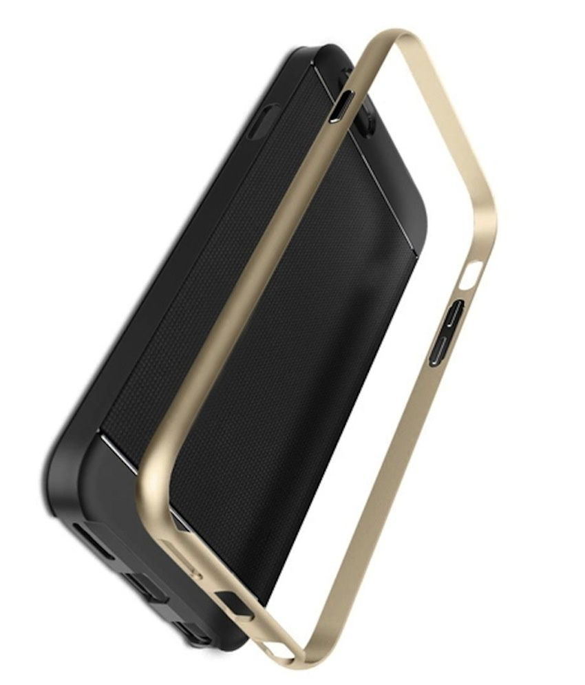 Bracevor Bumper Case For Apple iPhone 6 Plus-Golden