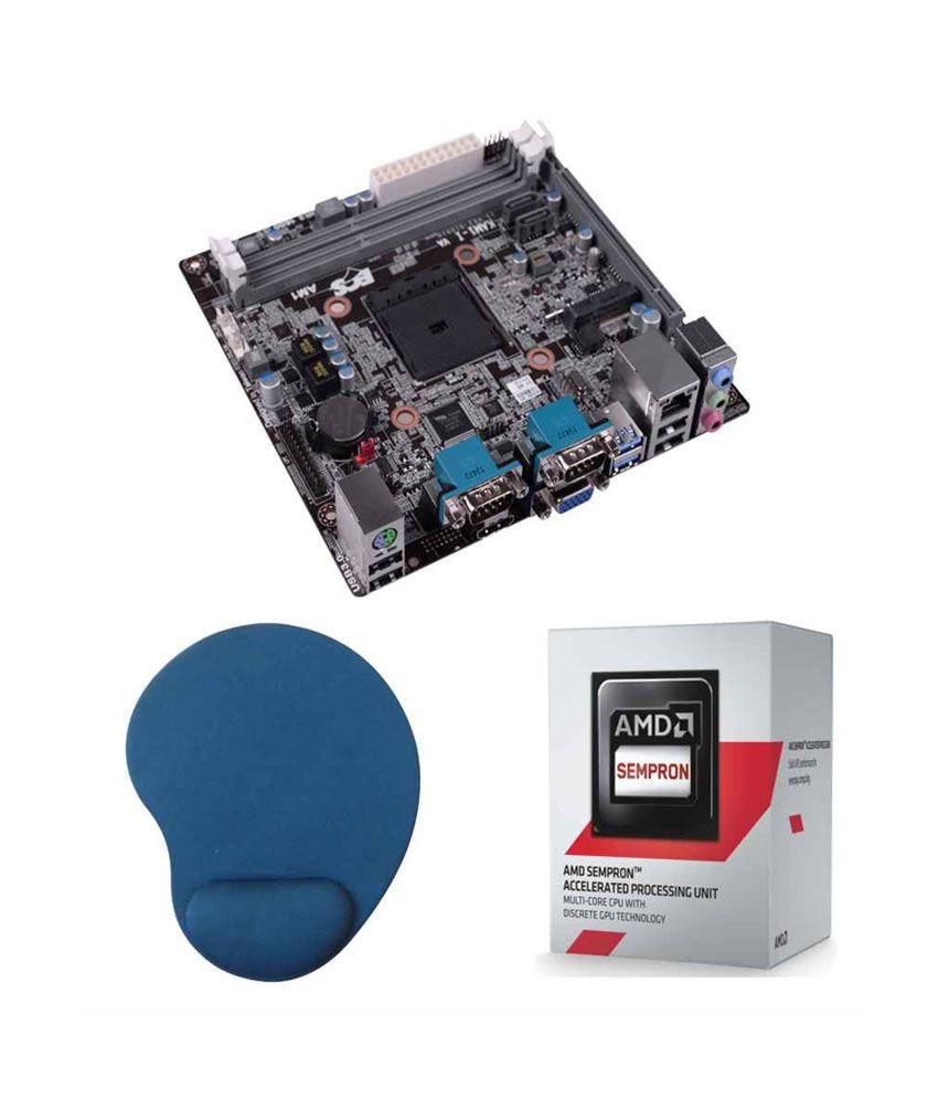 Fugen Ecs Kam1 I Amd Am1 Motherboard Amd Sempron 2650 Processor Mouse Pad Combo Pack Buy Fugen Ecs Kam1 I Amd Am1 Motherboard Amd Sempron 2650 Processor Mouse Pad Combo Pack