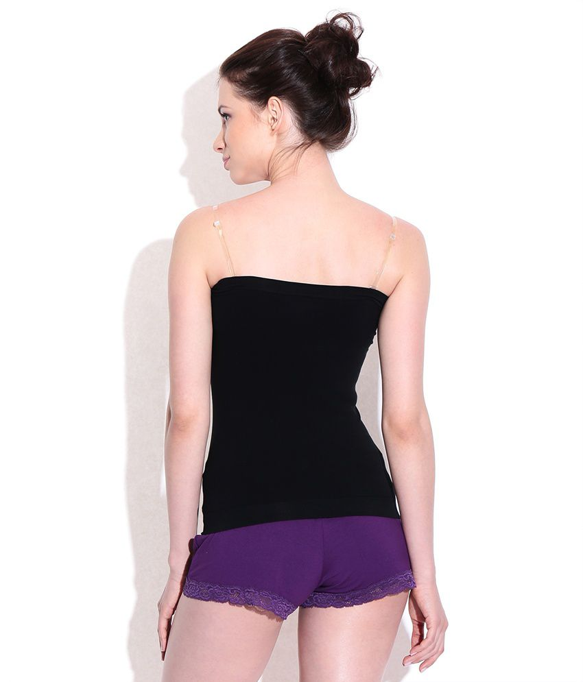 buy under colors of benetton black tube top online at best prices in