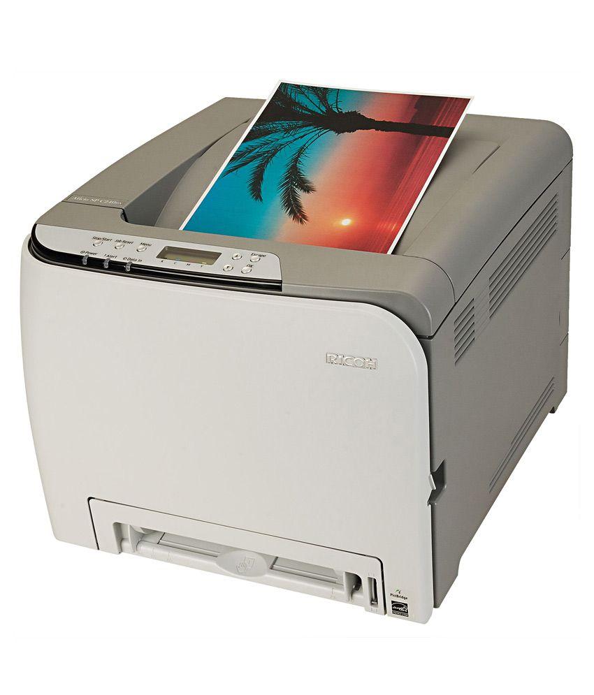 Color printout price in delhi -  Ricoh Aficio Sp C240dn Colour Laser Printer