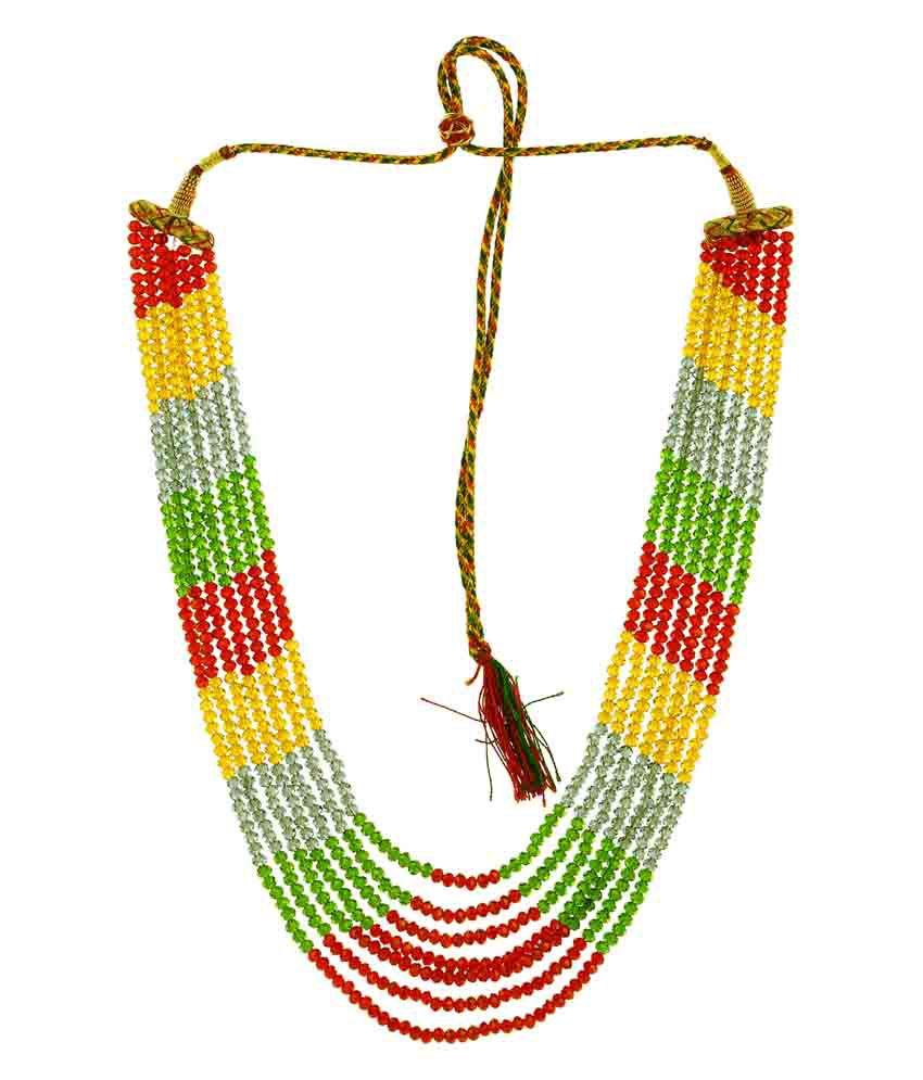 58% OFF on Bling N Beads Multicolor Designer 7 Line Crystal ...