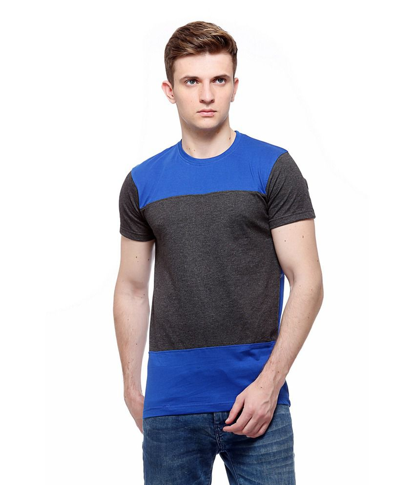 Recharge Multicolor Cotton Round Neck T-shirt