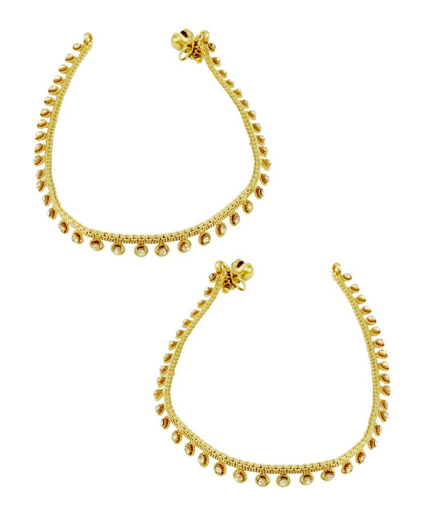 TheArtJewellery Beige Anklets