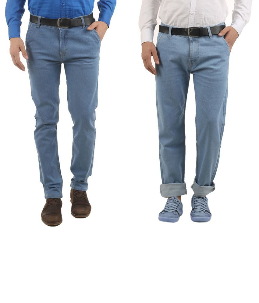Western Texas 96 Cotton Blend Jeans For Men