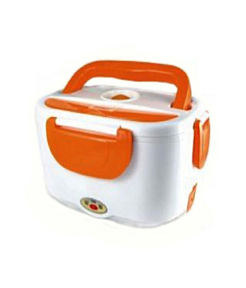 Best Deals Virgin Plastic Matte Finish Electric Lunch Box