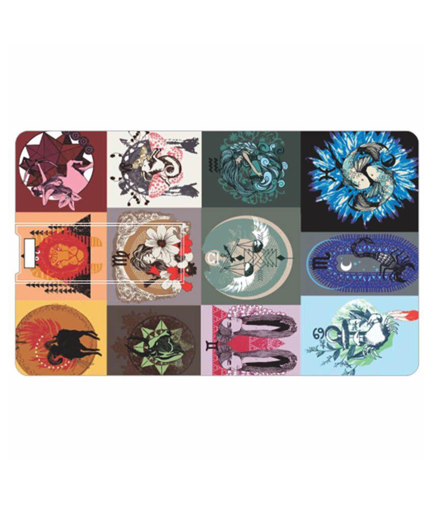 Printland Blocks 8 Gb Pen Drives Multicolor