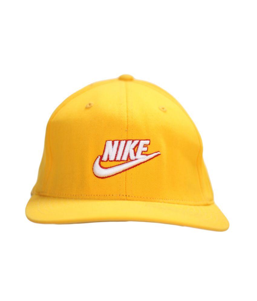 Stylenfashion Yellow Cotton Sports Cap For Men