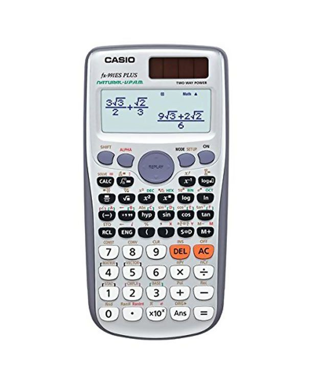 Casio Scientific Calculator fx 991ES PLUS.
