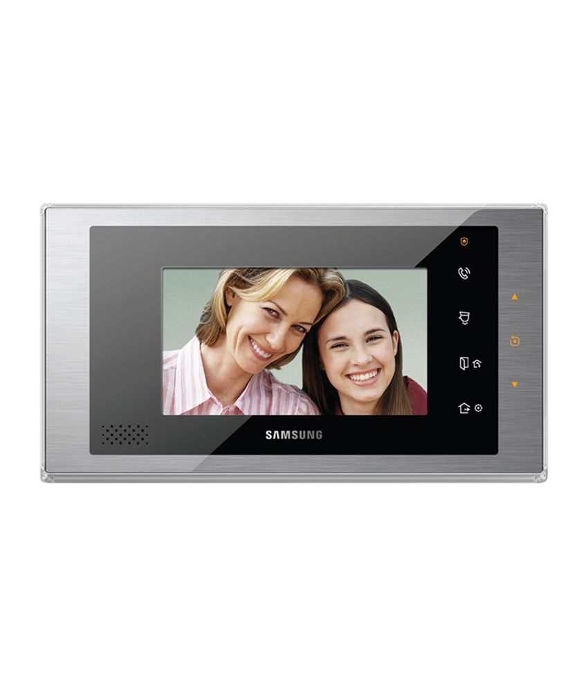 Samsung Video Door Phone 7 Inch Feather Touch Digital Lcd Screen With Pin Hole Outdoor Camera (sht-3507dm + Sht-cw610)  available at snapdeal for Rs.24590