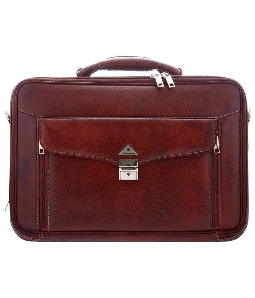 Leatherman Brown Laptop Case
