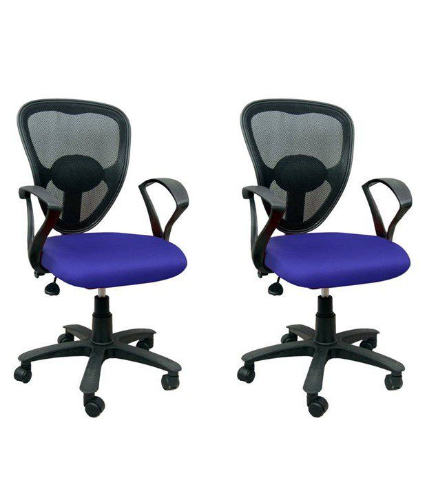 buy 1 office chair get 1 free blue