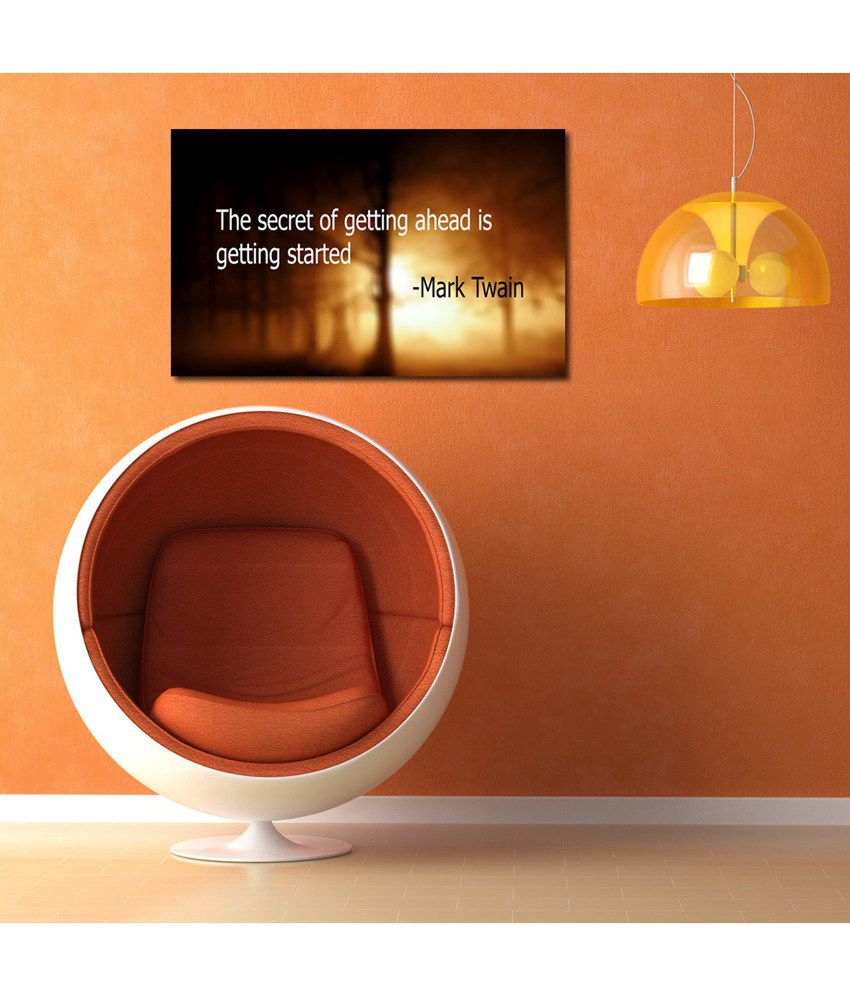 999Store Secret Life Quote Printed Modern Wall Art Painting - Large Size