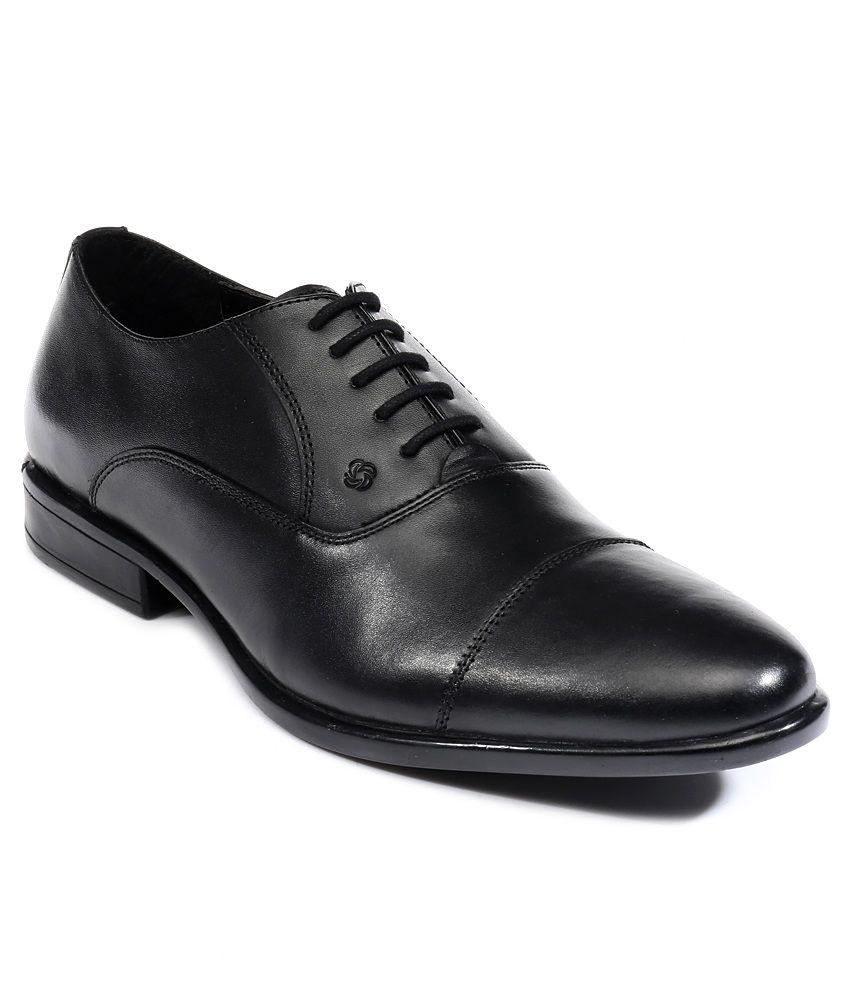 Nez by Samsonite Black Formal Shoes